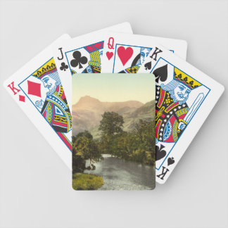 Langdale Pikes I, Lake District, Cumbria, England Bicycle Playing Cards