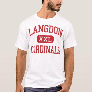 Langdon - Cardinals - High - Langdon North Dakota T-Shirt