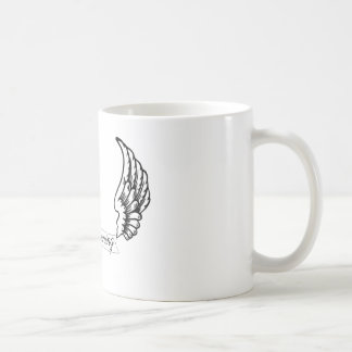 * L'ange s'envole la collection de souhaits Mug Blanc