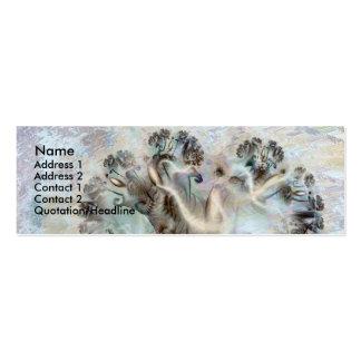 langer Winter Mini Business Card