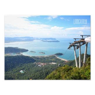 Langkawi Cable Car Scene Travel Souvenir Photo Print