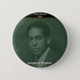 Langston Hughes 2 Inch Round Button
