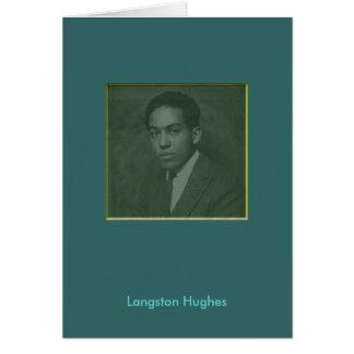 Langston Hughes Card