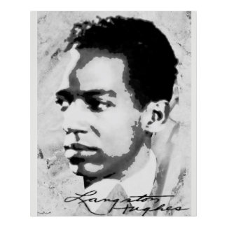 Langston Hughes Poster