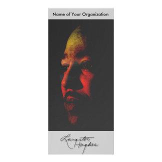 Langston Hughes Rack Card