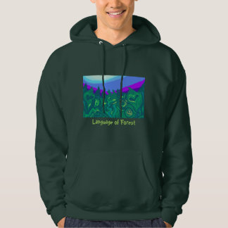Language of Forest Art Sweatshirt