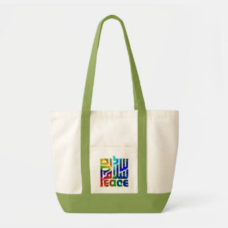 Language of Peace Tote Bag