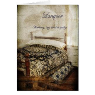 Languor Card