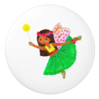 Lani Fairy Ceramic Knob