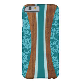 Laniakea Hawaiian Faux Wood Surfboard Barely There iPhone 6 Case