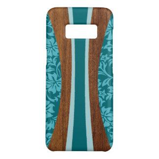 Laniakea Hawaiian Surfboard Faux Wood Teal Case-Mate Samsung Galaxy S8 Case