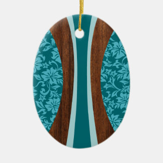 Laniakea Hawaiian Surfboard Ornament