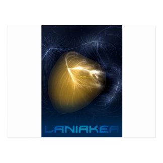 Laniakea - Our Local Supercluster Postcard