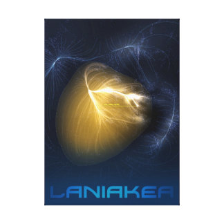 Laniakea - You Are Here Canvas Print