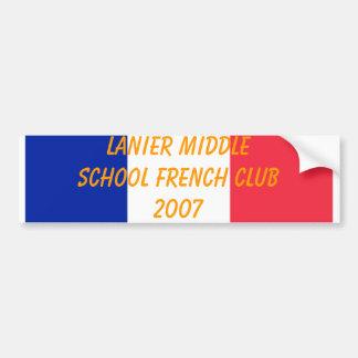 Lanier French Club 2007 Bumper Stickers