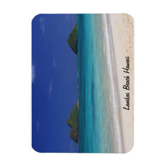 Lanikai Beach Hawaii Magnet