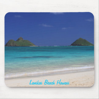 Lanikai Beach Hawaii Mouse Pad