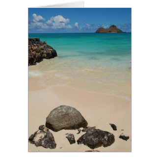 Lanikai Beach, Oahu Card