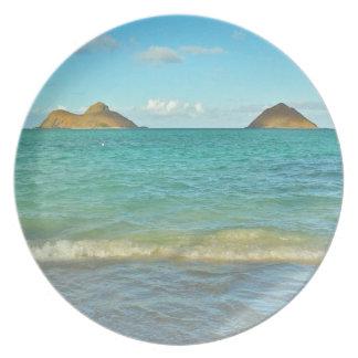 Lanikai, Hawai'i Plate