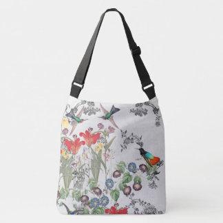 L'animal d'oiseaux de colibri fleurit le sac