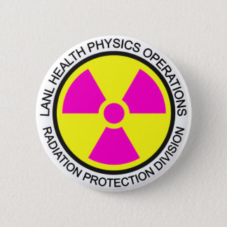 LANL Health Physics Button