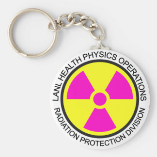 LANL Health Physics Keychain