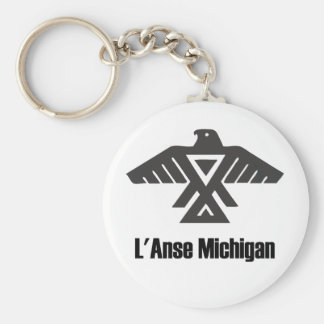 L'Anse Michigan Ojibwe Native American Keychain