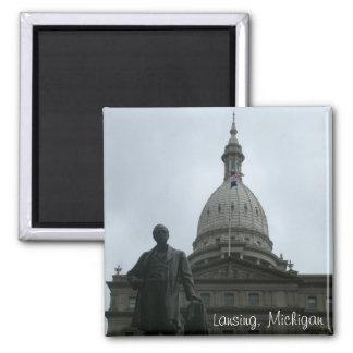 Lansing Capitol Building Magnet