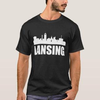 Lansing MI Skyline T-Shirt