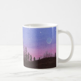 Lansing Moon and Stars Coffee Mug