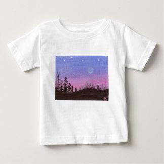 Lansing Moon & Stars Baby T-Shirt