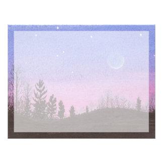 Lansing Moon & Stars Letterhead
