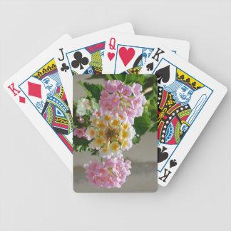 Lantana Flowers Playing Cards