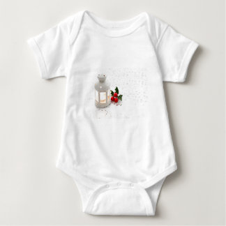 Lantern and Holly. Baby Bodysuit