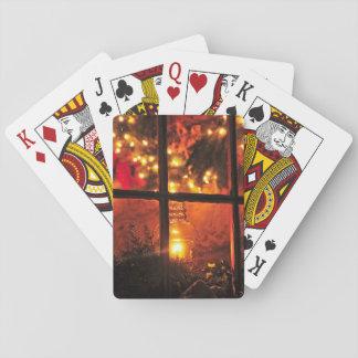 Lantern at Night Playing Cards