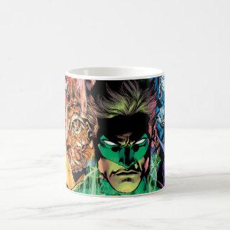 Lantern Corps Group with Colors Coffee Mug