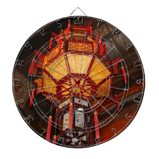 Lantern, Daxu Old Village, China Dartboard