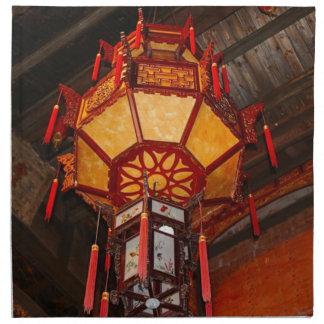 Lantern, Daxu Old Village, China Napkin
