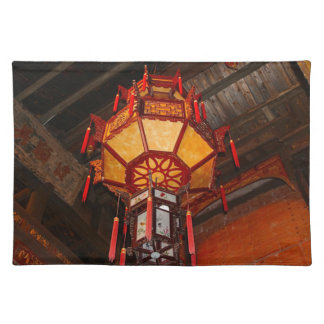 Lantern, Daxu Old Village, China Placemat