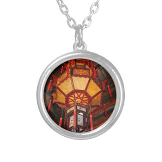 Lantern, Daxu Old Village, China Silver Plated Necklace
