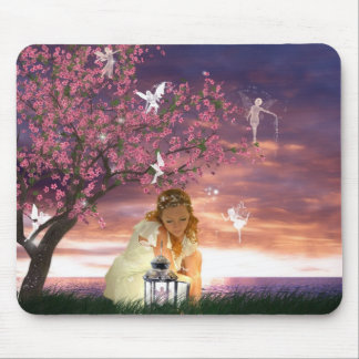 Lantern Fairies Mouse Pad