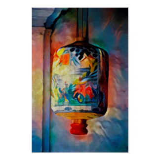 Lantern Malacca - Art On Canvas Poster