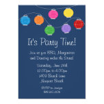 Lantern Party Invitation