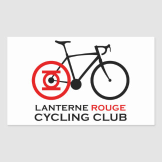 Lanterne Rouge Cycling Club Sticker