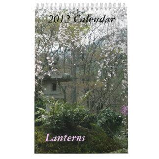 Lanterns Calendar 2012