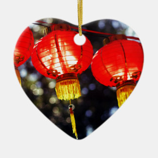 Lanterns Ceramic Ornament