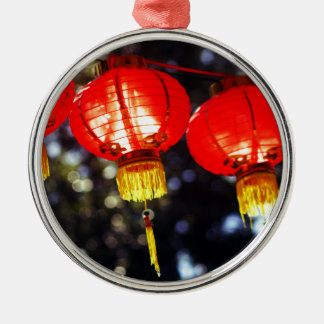 Lanterns Metal Ornament