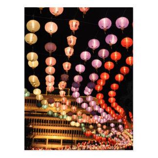 Lanterns Postcard