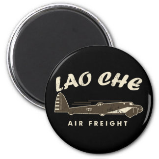 LAO-CHE air freight2 2 Inch Round Magnet