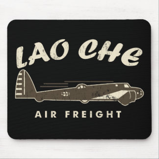 LAO-CHE air freight2 Mouse Pad